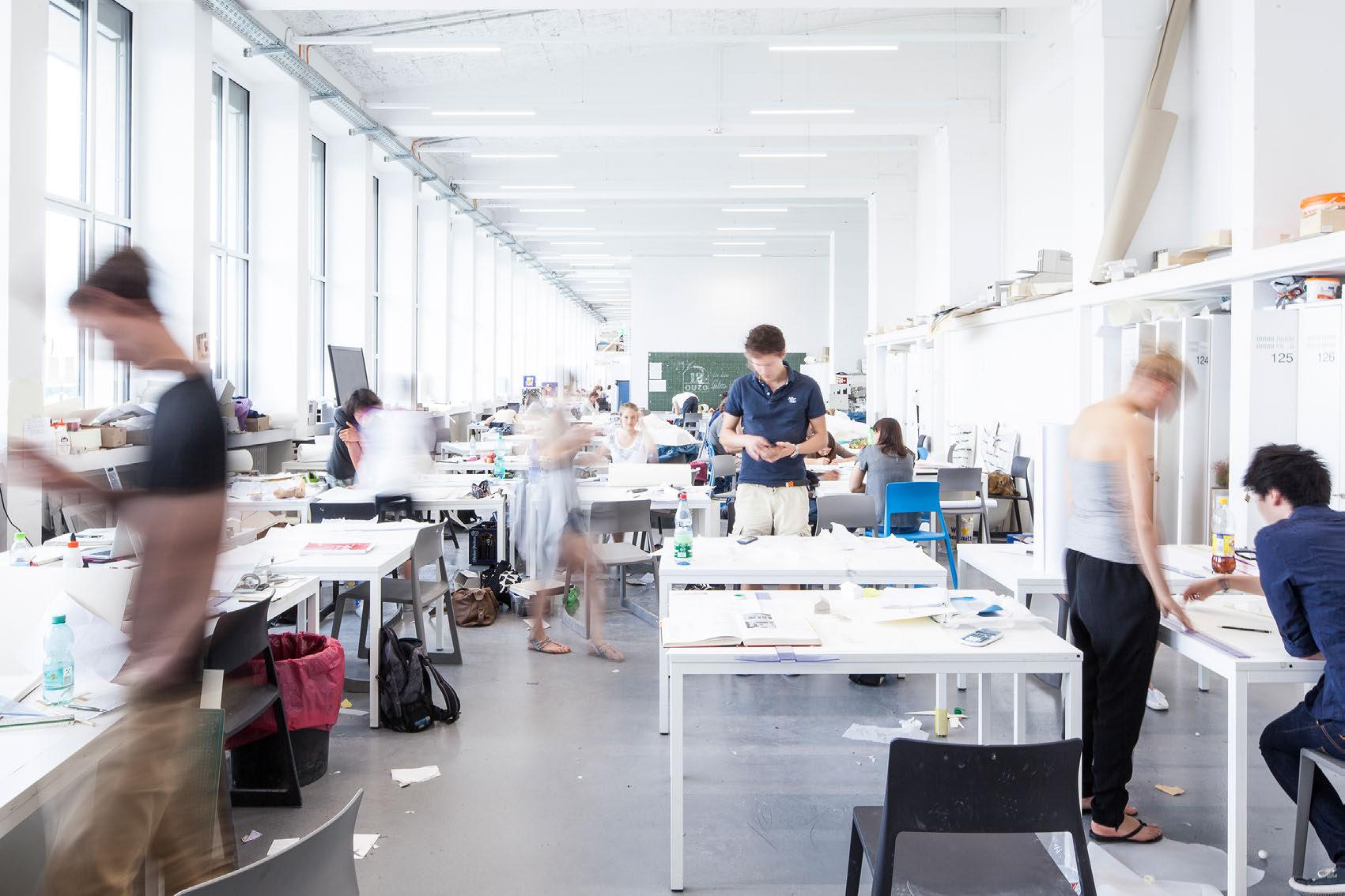 Hochschulinitiative moderner aus und leichtbau die for Uni architektur