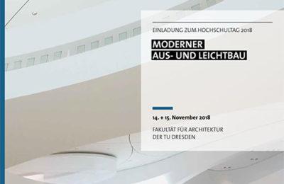 Willkommen Zum Hochschultag Moderner Aus- Und Leichtbau In Dresden