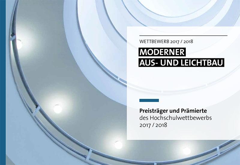 Preisträger und Prämierte des Hochschulwettbewerbs 2017/2018